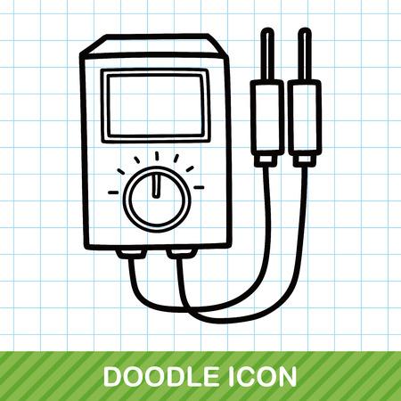 power transformer: power transformer doodle