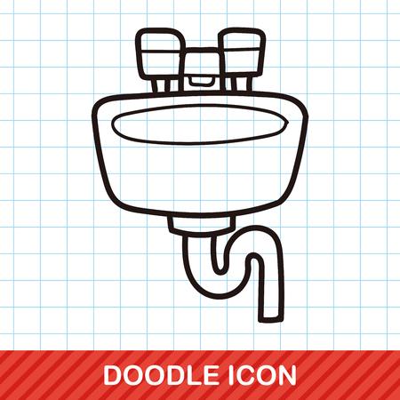 sink: sink doodle
