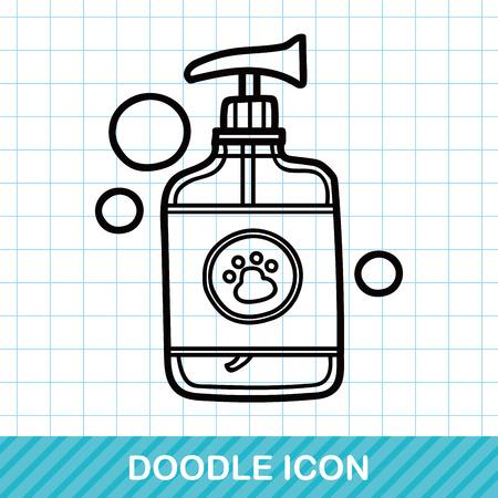 hair wash: pet shampoo doodle