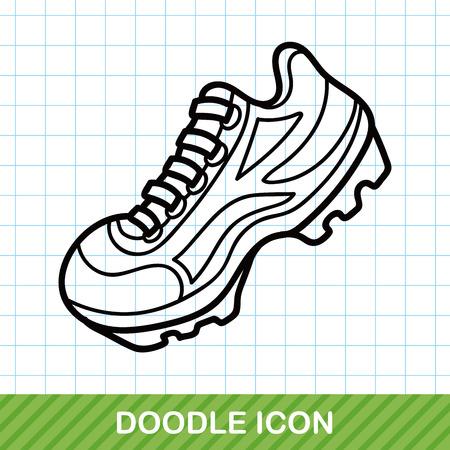 Hardloopschoenen doodle
