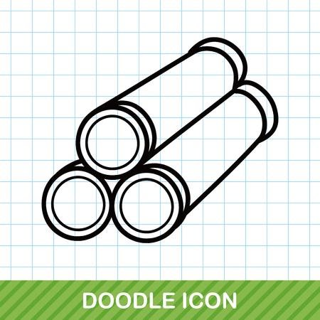 bomba de agua: Doodle de tubería de agua