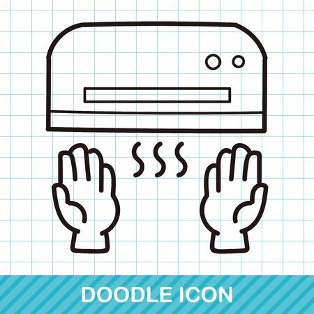 dryer: hand dryer doodle