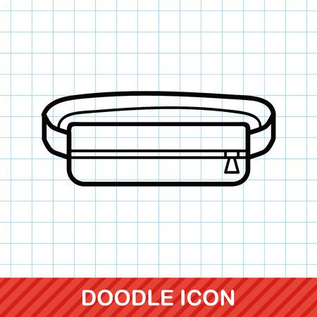 headband: sport headband doodle