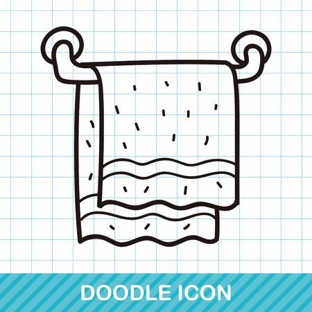 towel: towel doodle