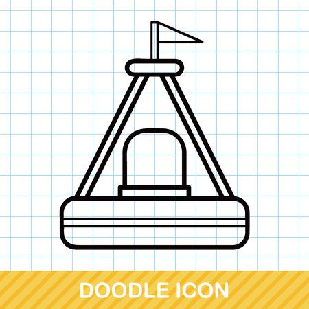 sailing ships: Buoy doodle