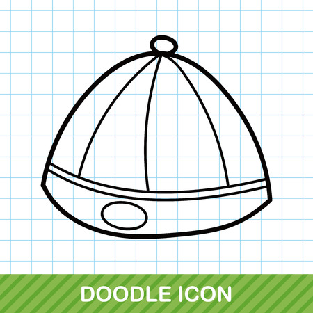 chinese hat: Chinese hat doodle