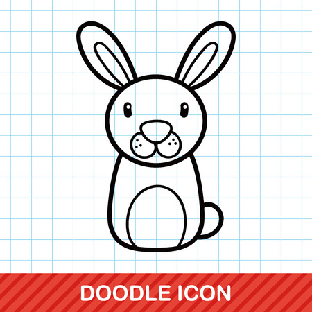 zoo: Chinese Zodiac rabbit doodle