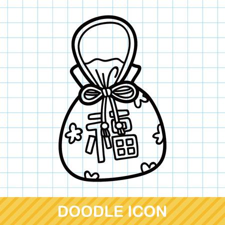 talisman: Chinese talisman doodle