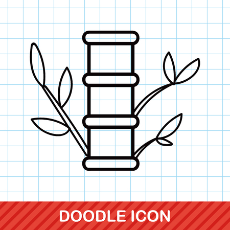 new plant: Chinese New Year decorative bamboo doodle