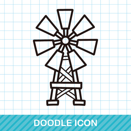 wind mill toy: Windmill doodle