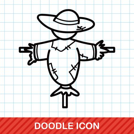 scarecrow: Scarecrow doodle