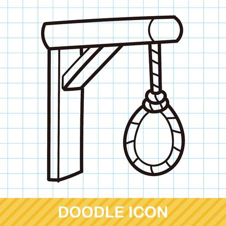 ahorcado: doodle del verdugo