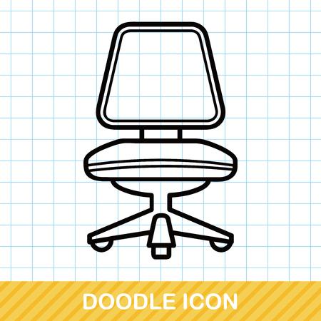 sofa furniture: chair sofa doodle