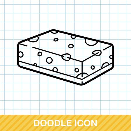 Sponge doodle