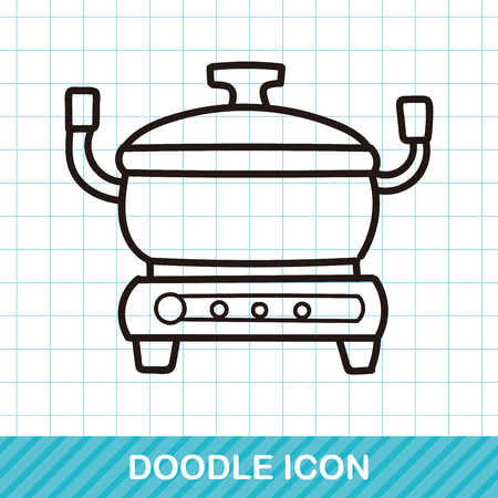 slow food: rice cooker doodle