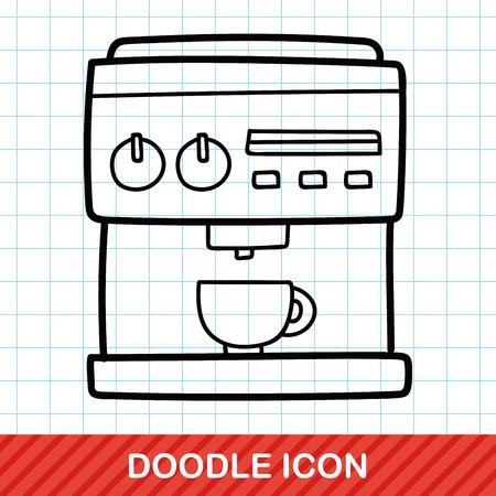 koffiezetapparaat doodle
