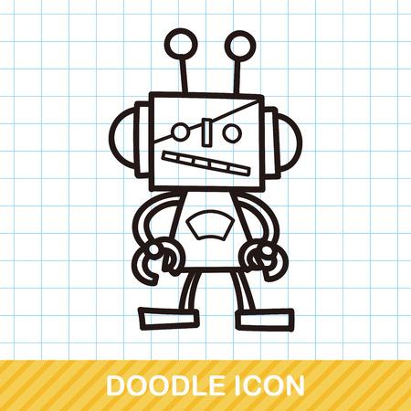 robot toy: robot doodle