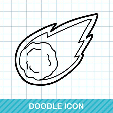 meteorite: Meteorite doodle