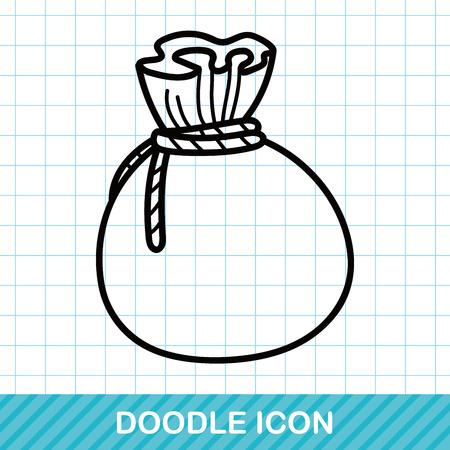 goodie: bag doodle Illustration