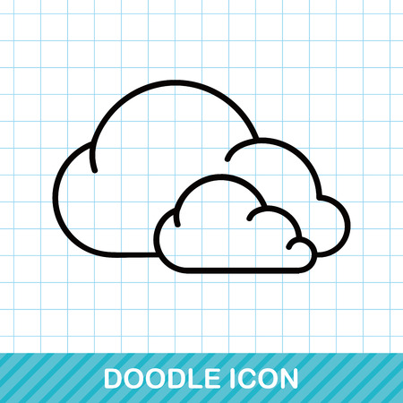 weather cloud doodle