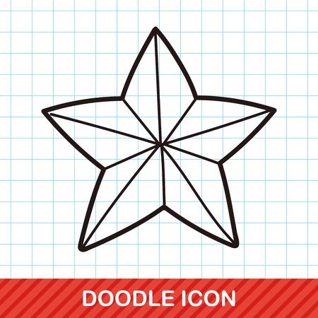star: star doodle