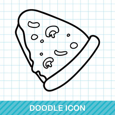 pepperoni pizza: pizza doodle