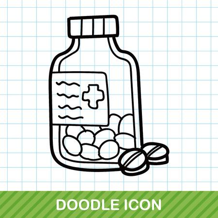 ointment: medicine color doodle