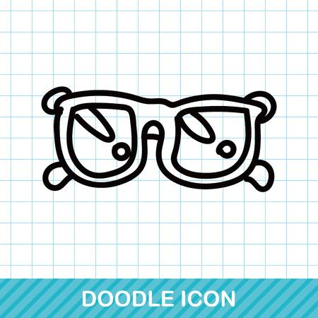 fashion sunglasses: sunglasses color doodle