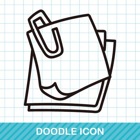 memo: Memo color doodle