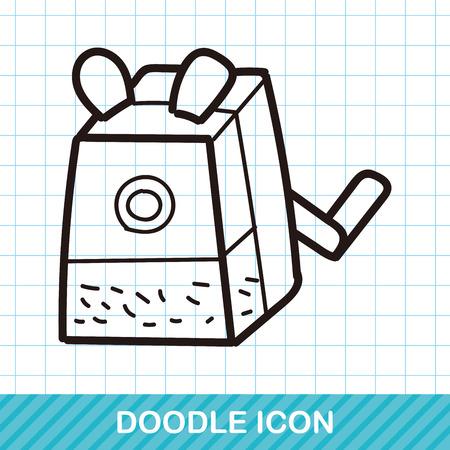 sharpener: Pencil sharpener color doodle