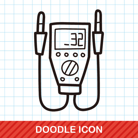 power transformer: power transformer color doodle