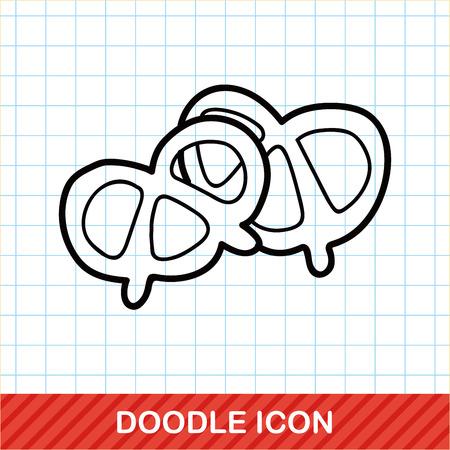 pretzels: Pretzels doodle