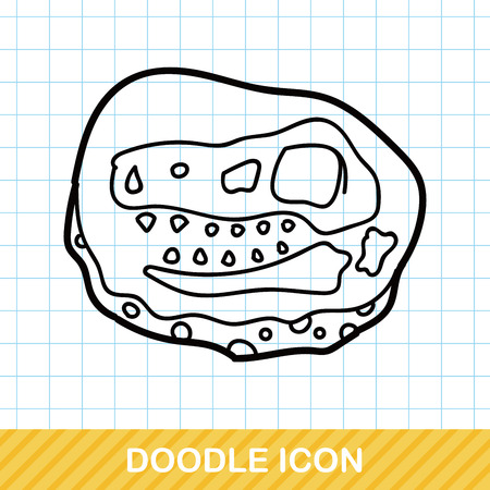 fossil: fossil doodle