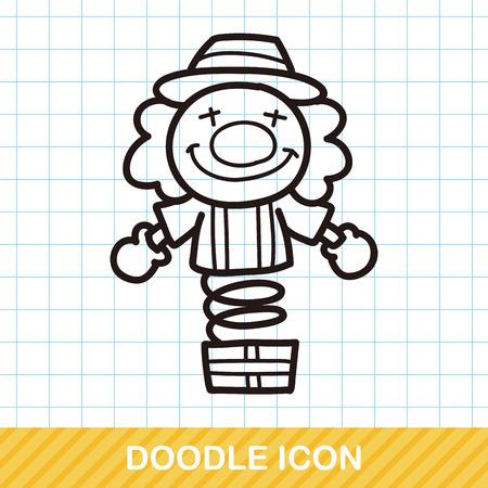 clown: Clown doodle