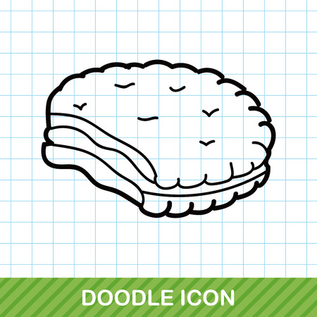 chocolate cookie: cookie doodle