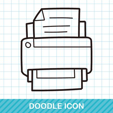 printer doodle