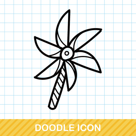 windmill: Windmill doodle