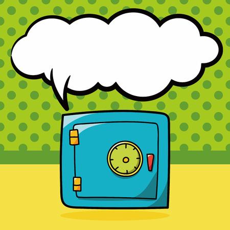 safety: safety box doodle, speech bubble