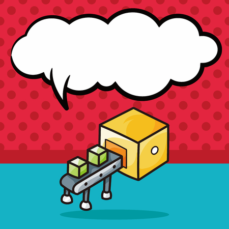 conveyor: Conveyor doodle, speech bubble