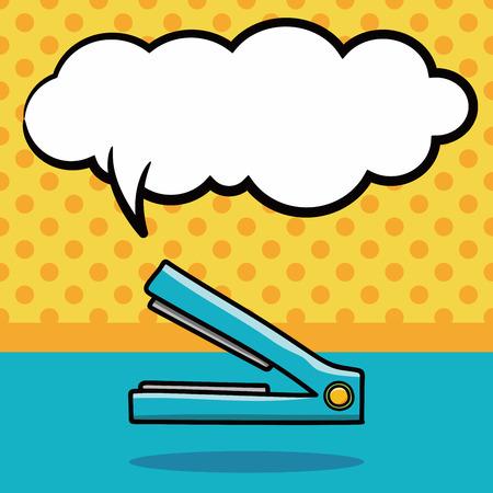straightener: straightener doodle, speech bubble