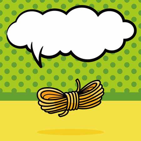 kink: rope doodle, speech bubble