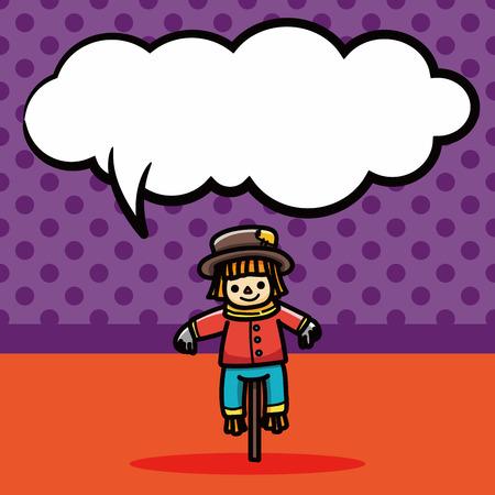 espantapajaros: doodle de espantap�jaros, la burbuja del discurso