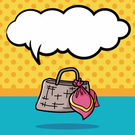 goodie: bag doodle, speech bubble