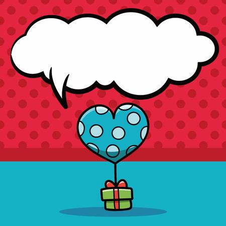 speech ballons: balloon doodle, speech bubble