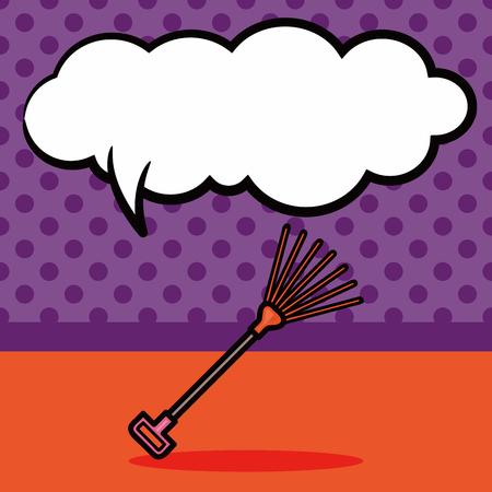 harrow: harrow doodle, speech bubble Illustration