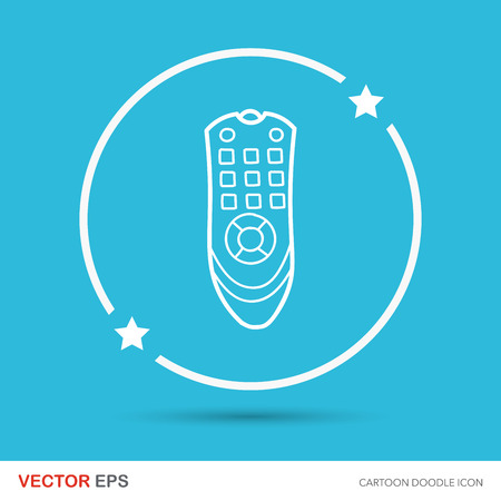 tv controle doodle