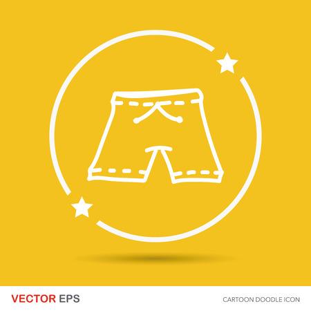 short pants: short pants color doodle