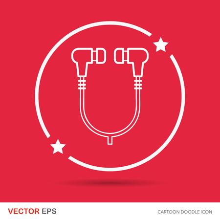 earphone: earphone doodle