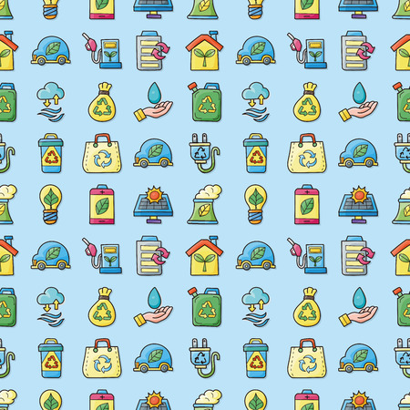 Ecology and recycle icons set,eps10