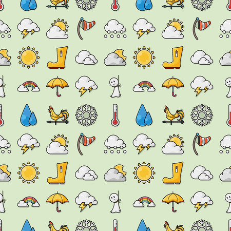 meteorologist: Weather icons set,eps10